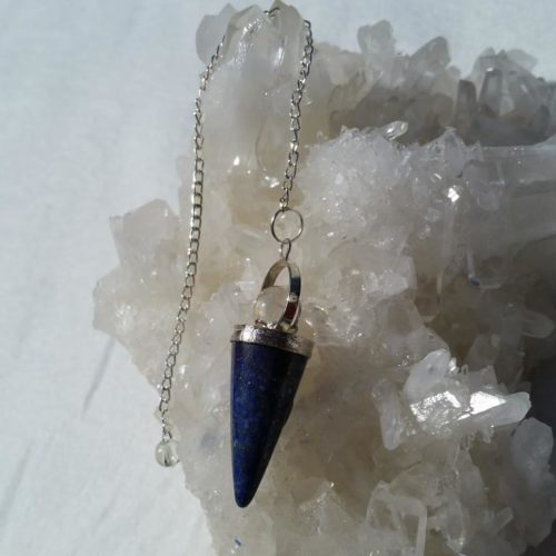 pendel lapis lazuli, gudinnependel